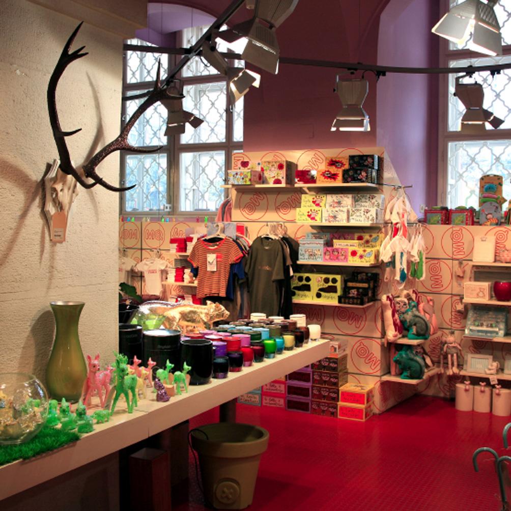 Boutique souvenirs au Museums Quartier