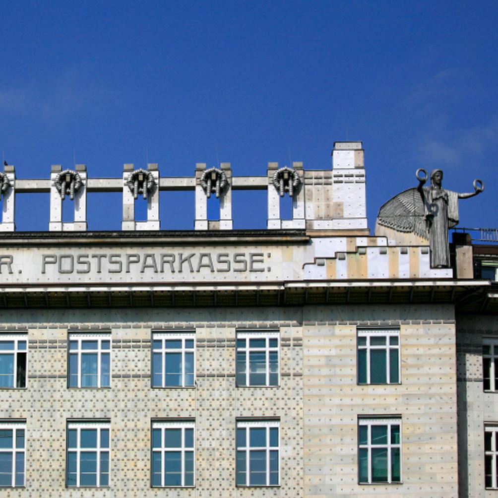 Caisse d'épargne de la poste (Postsparkkasse, 1904-06) d'Otto Wagner