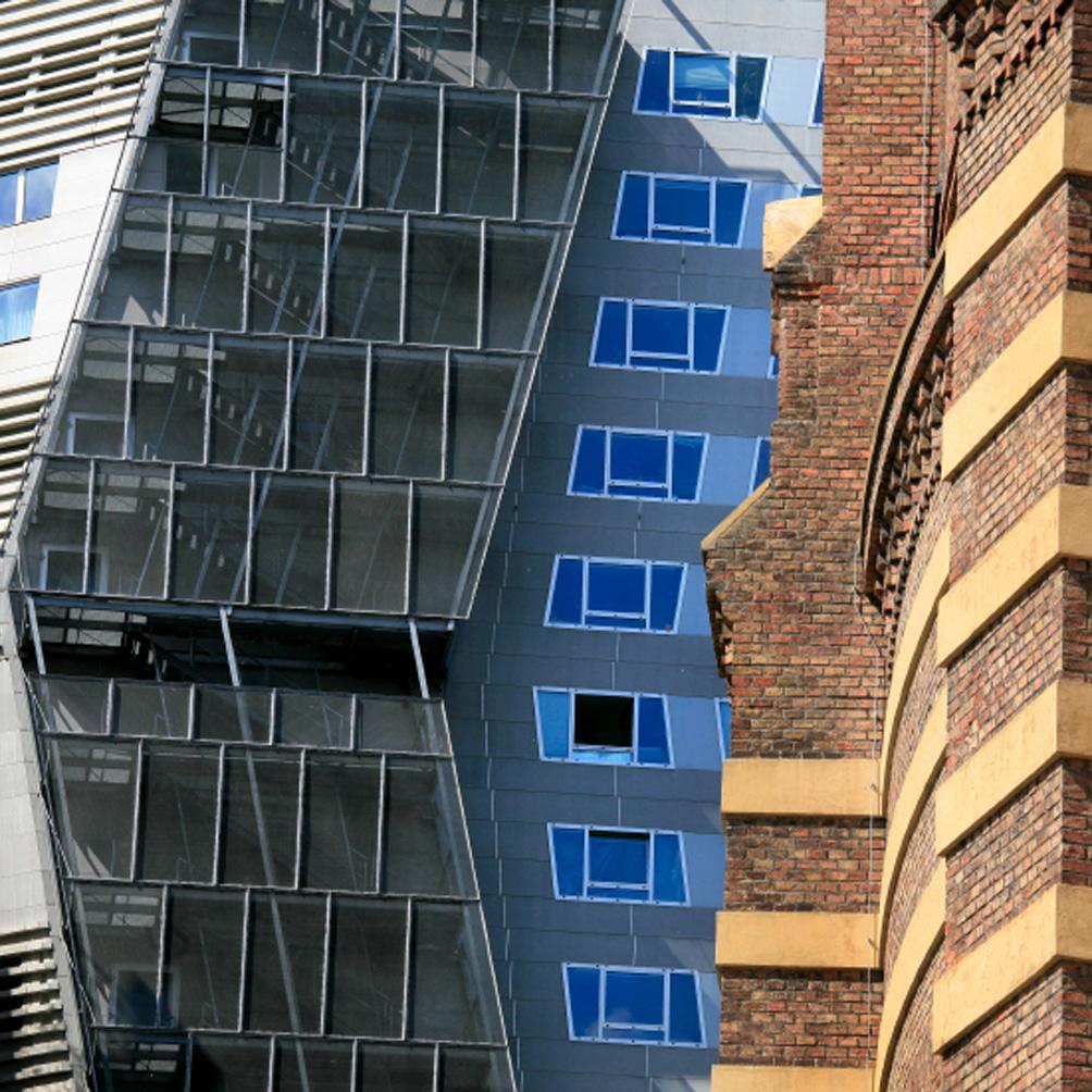 Gasometre City : entrelac architectural hypnotique