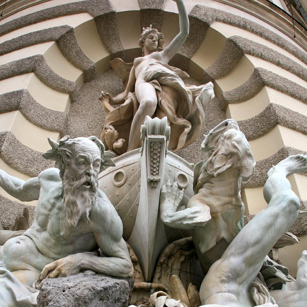 Fountaine sur Michaelerplatz