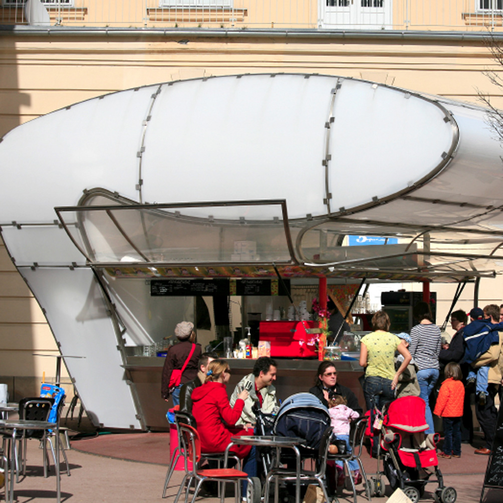 Snack Bar au Museums Quartier