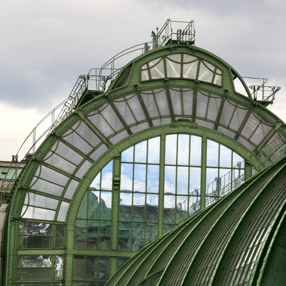 Palmenhaus, construction Jugendstil par Friedrich Ohman