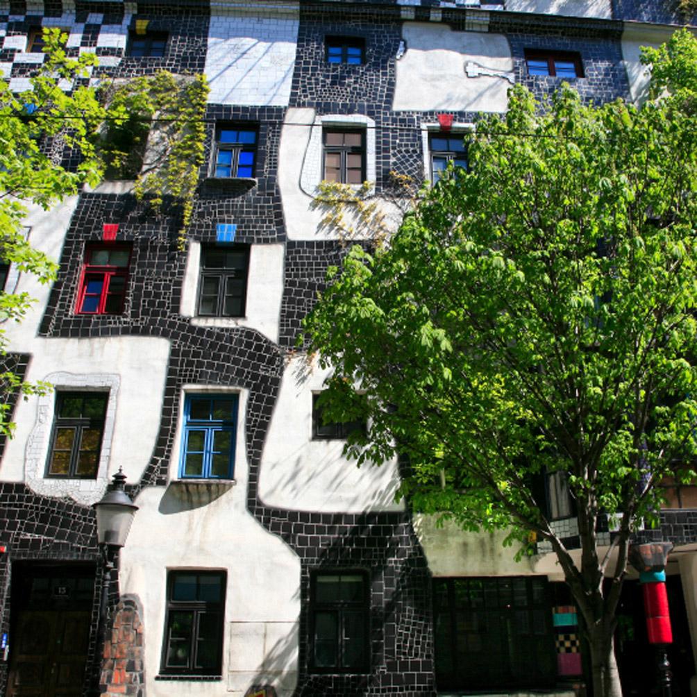 La 'Kunsthaus' de Hundertwasser