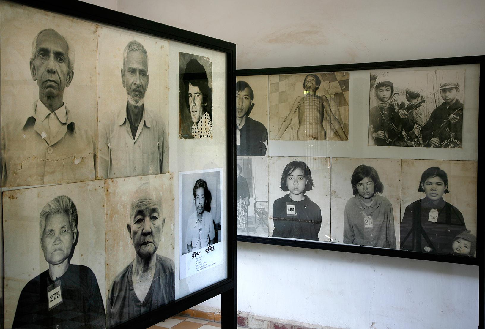Musée Tuol Sleng, encore des visages...