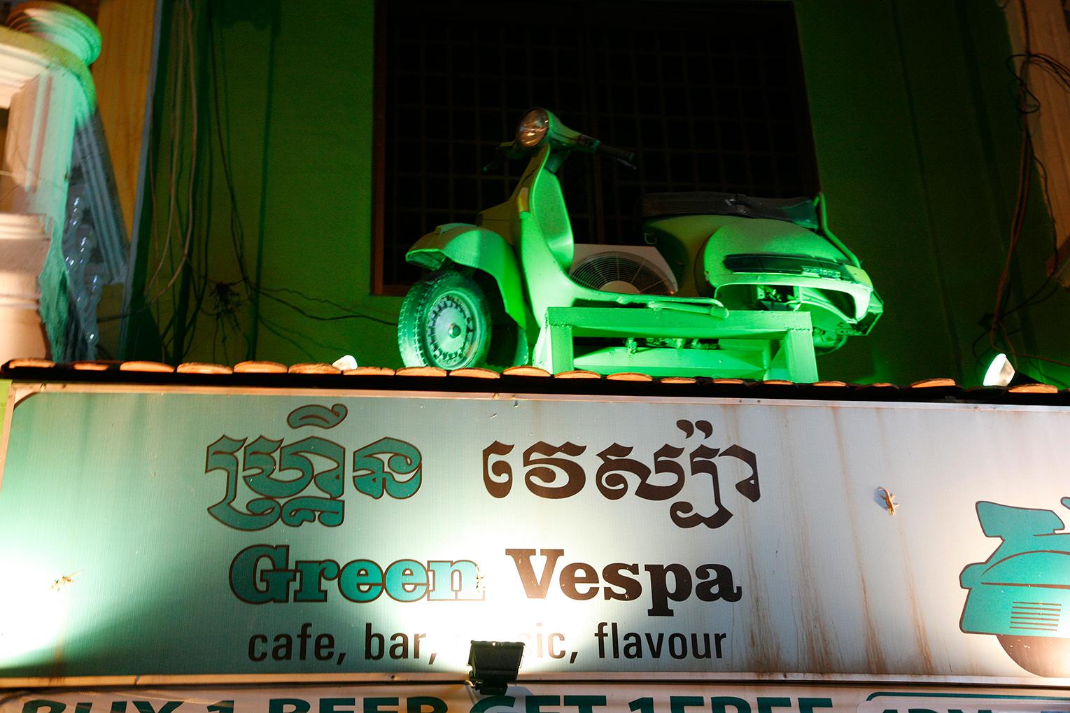 Trendy, le Green Vespa