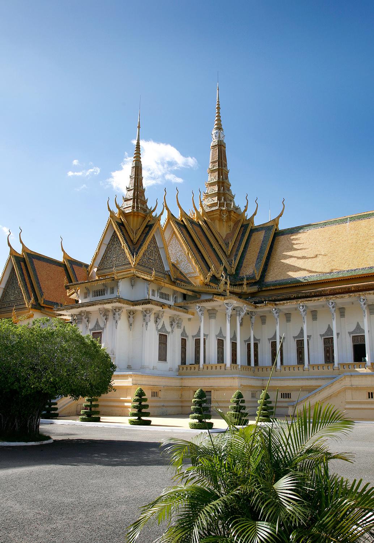 Le palais royal...