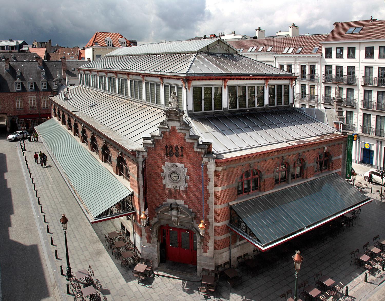 Halles Saint-Géry, RV des expats'
