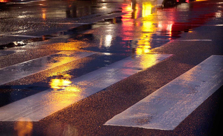 La pluie et les embouteillages, inévitables