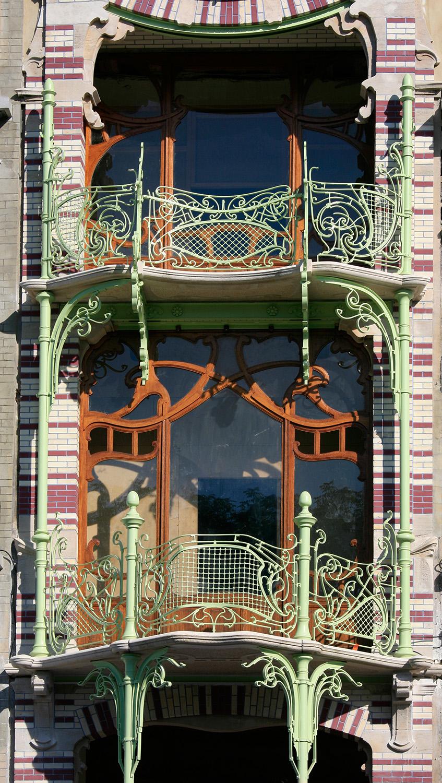 Maison Saint-Cyr, perle d'Art Nouveau