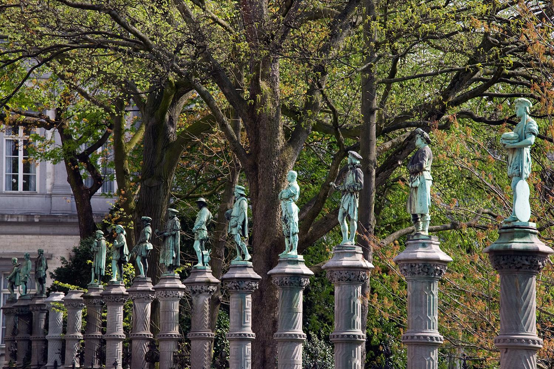 Les statues du Petit Sablon