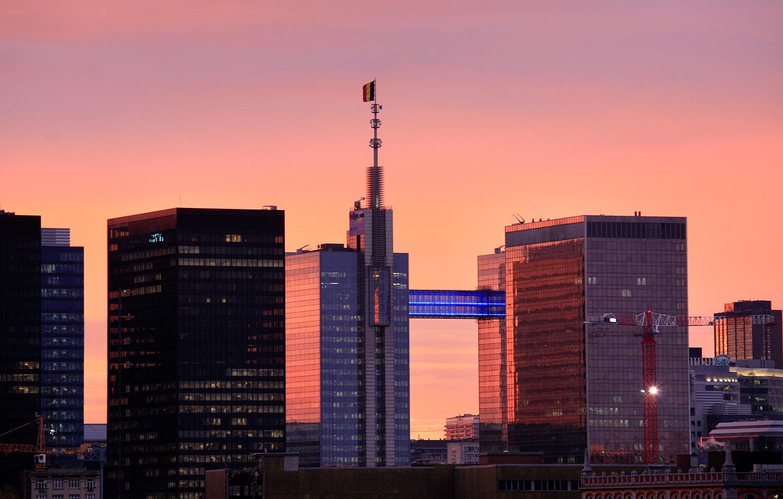 Sunset au quartier Nord