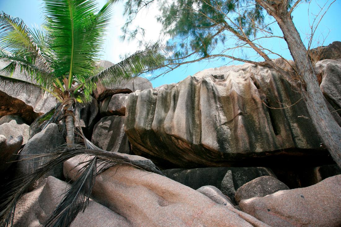 Grand Anse cerclée de granite