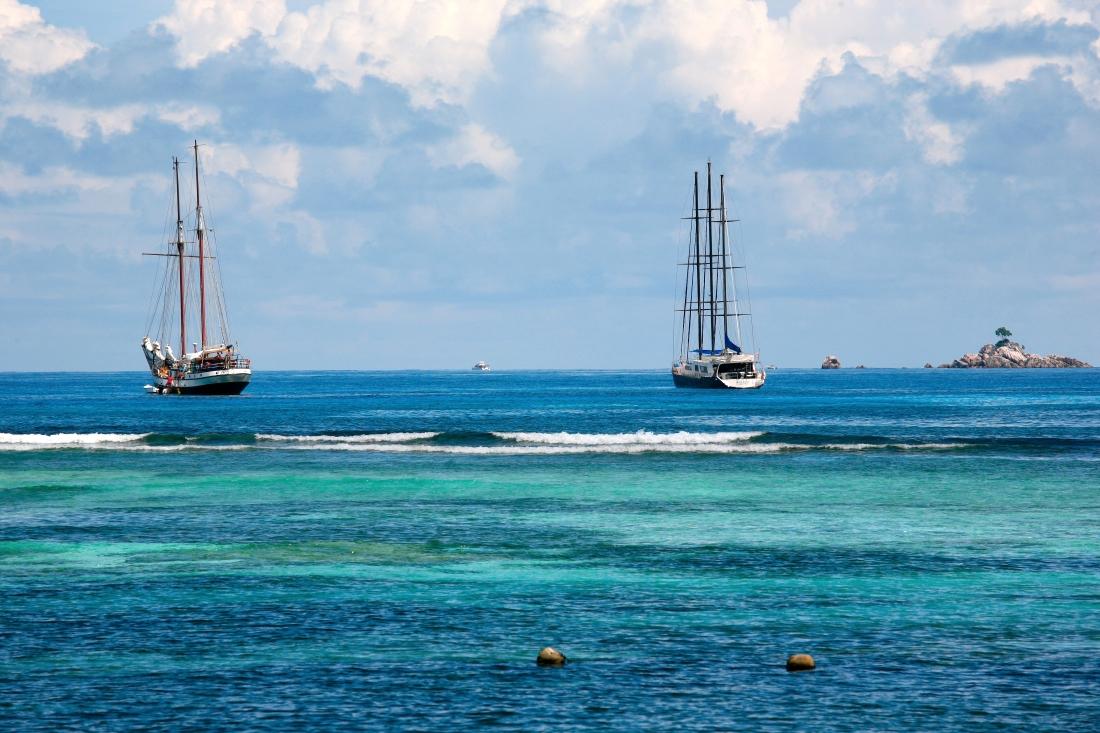 Deux navires aux Silhouettes de rêve
