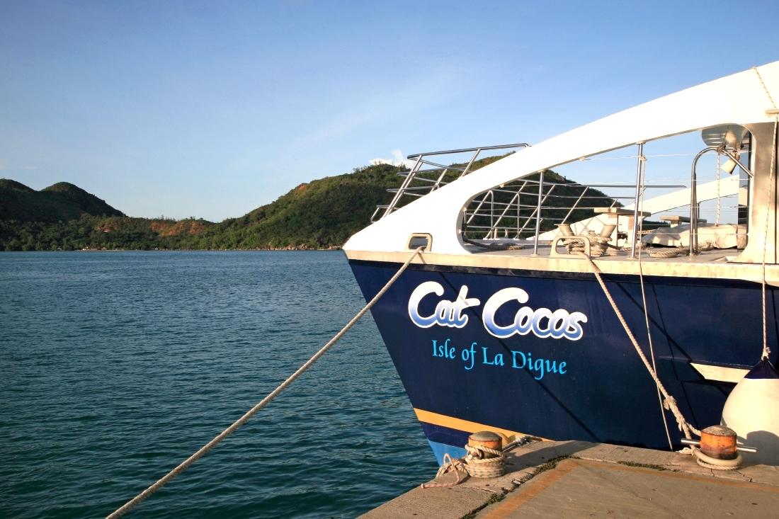 Cat Cocos ferry, Praslin-Mahé