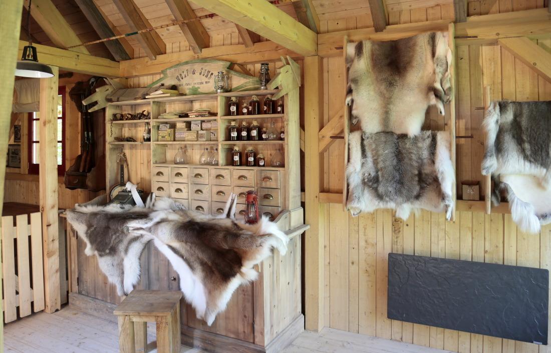 Le comptoir des trappeur à Yellowstone