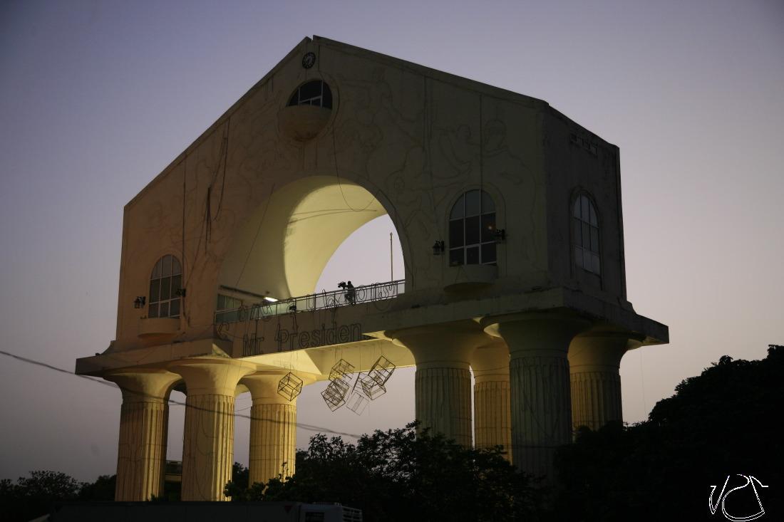Arche mémorial du coup de 1994