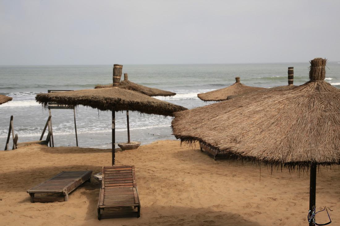Sur la propriété de l'Hôtel Senegambia