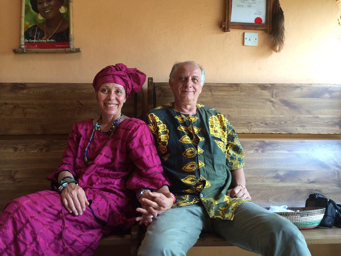 Et en Afrique, quel sensualité, toutes ces couleurs...