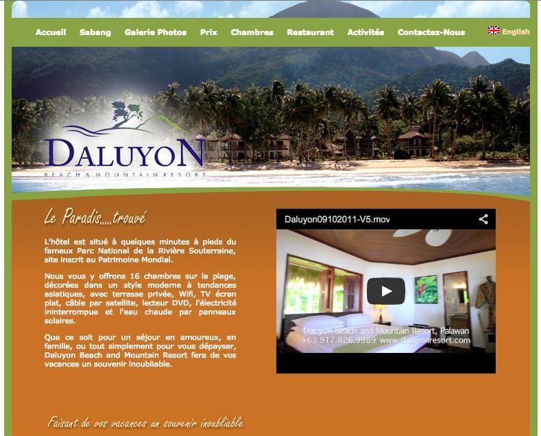 A Sabang, nos nuitées les plus chères (120 dollars US) réservées directement via le site de l'hôtel