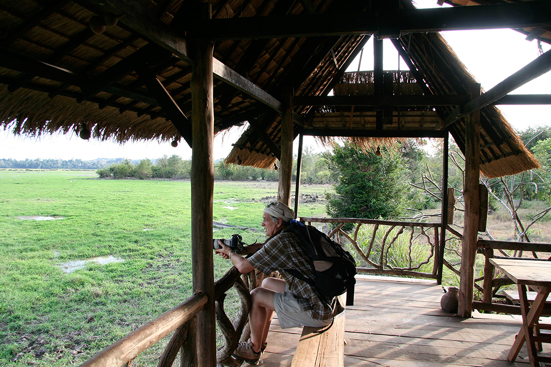 Dans l'écolodge Kingfisher, Xe Pian NPA, Laos