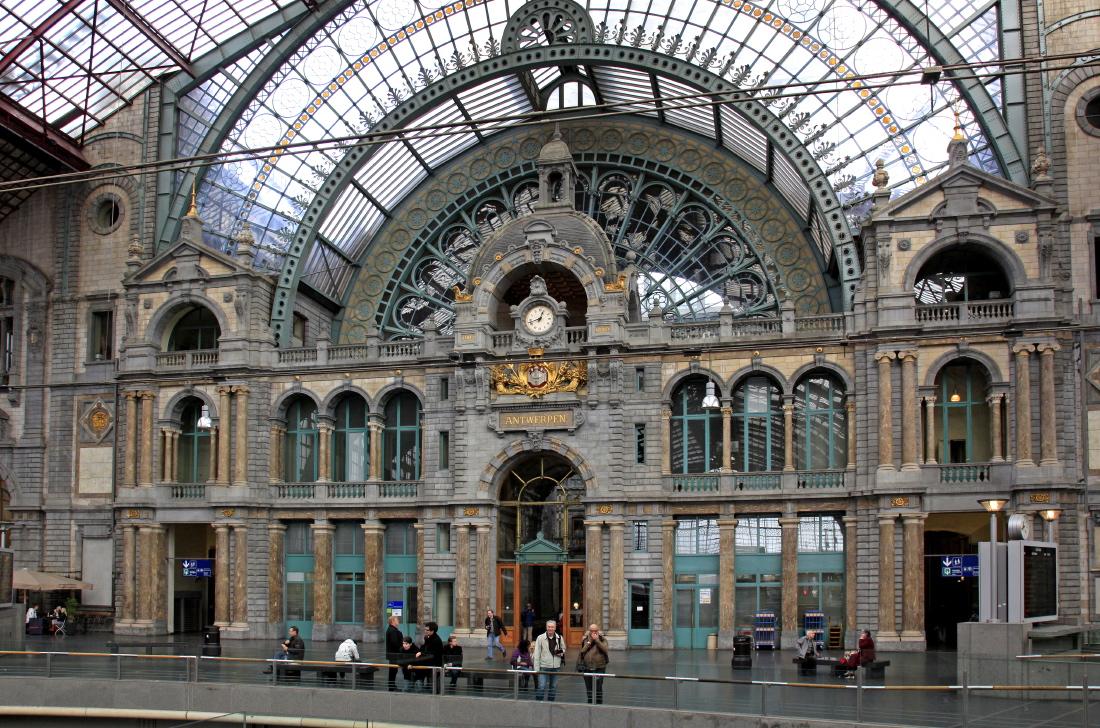La Gare d'Anvers restaurée