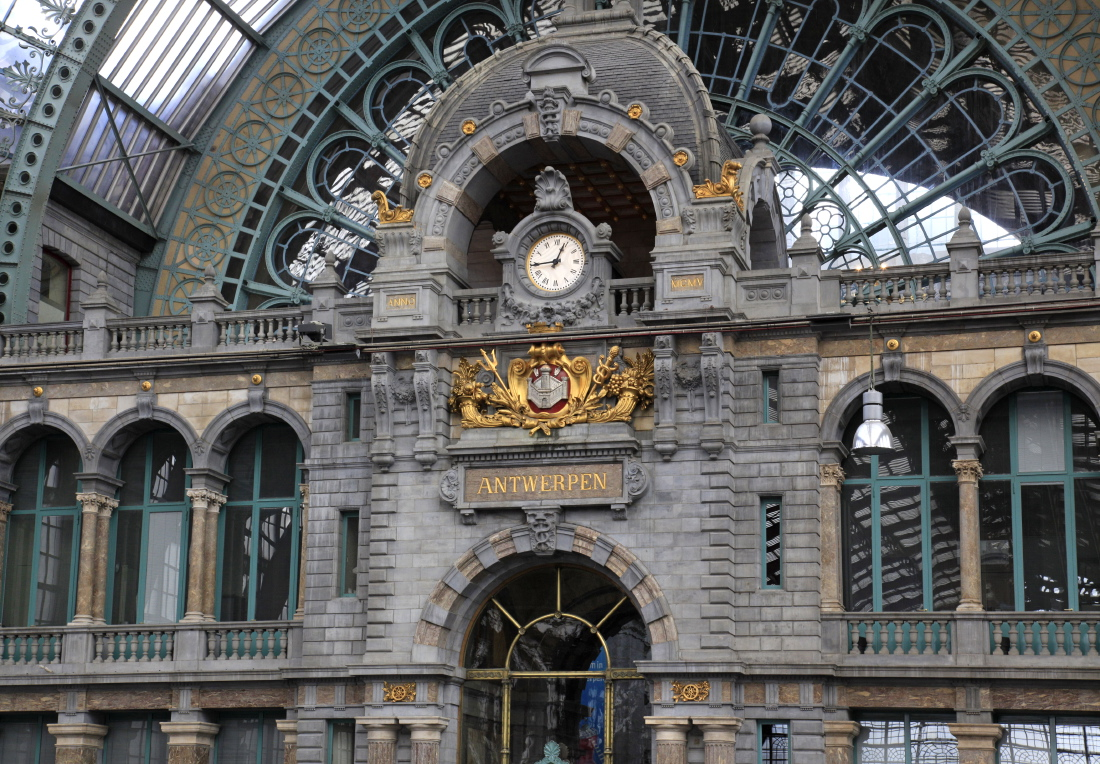Superbe, la gare restaurée