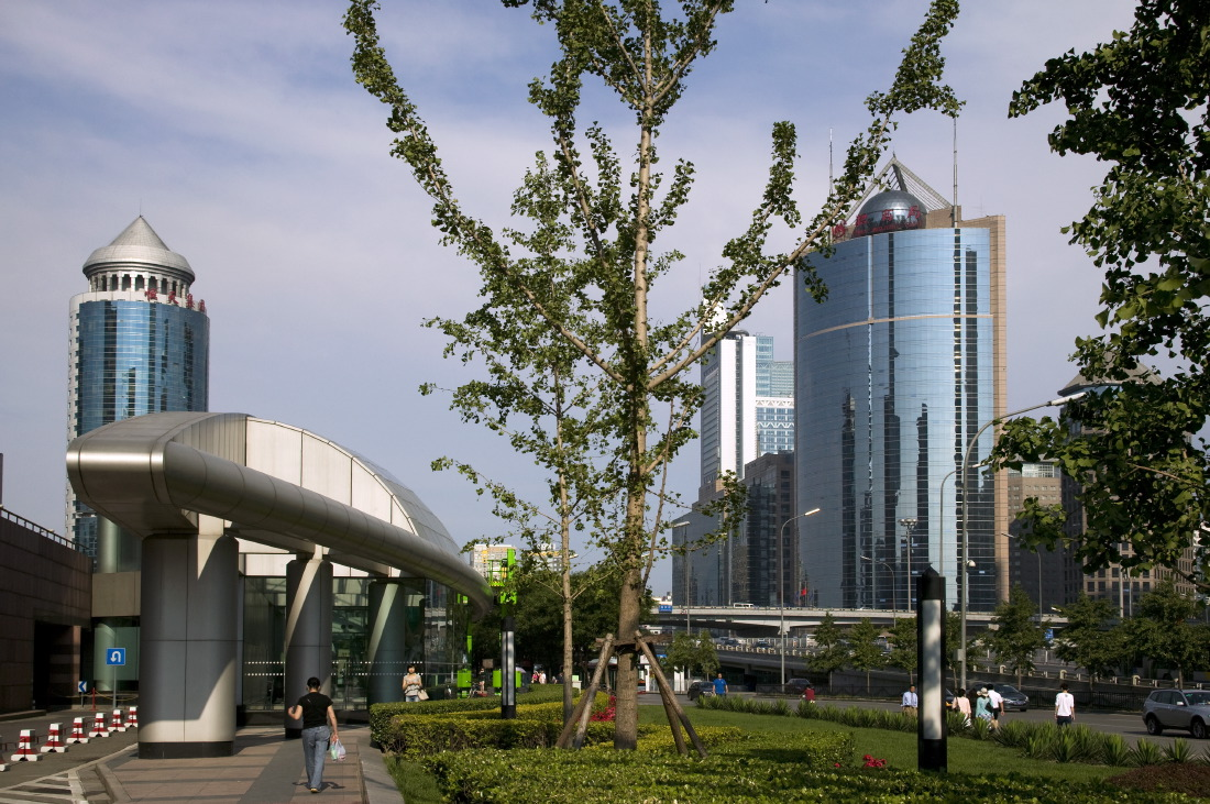 Onward Science & Trade Centre 1 Complex along Jianguomenwai Avenue