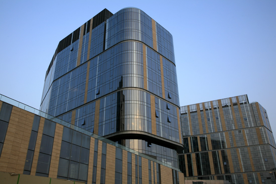 Beijing Olympic Green Convention Centre (BOGCC) Commercial Building