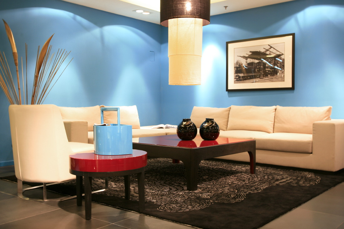 HC28 (lacquerware wooden furnitures by French Designer Francois Champsaur) in the Cofco Plaza