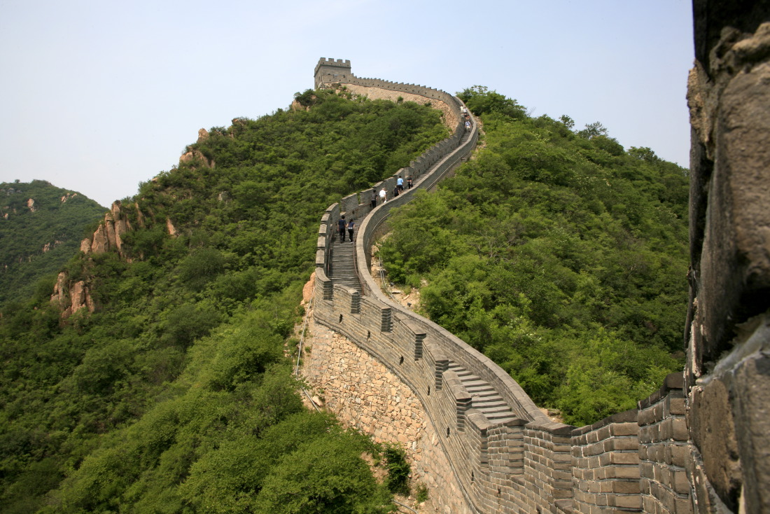 Great Wall of China at Juyongguan (Juyong Pass)