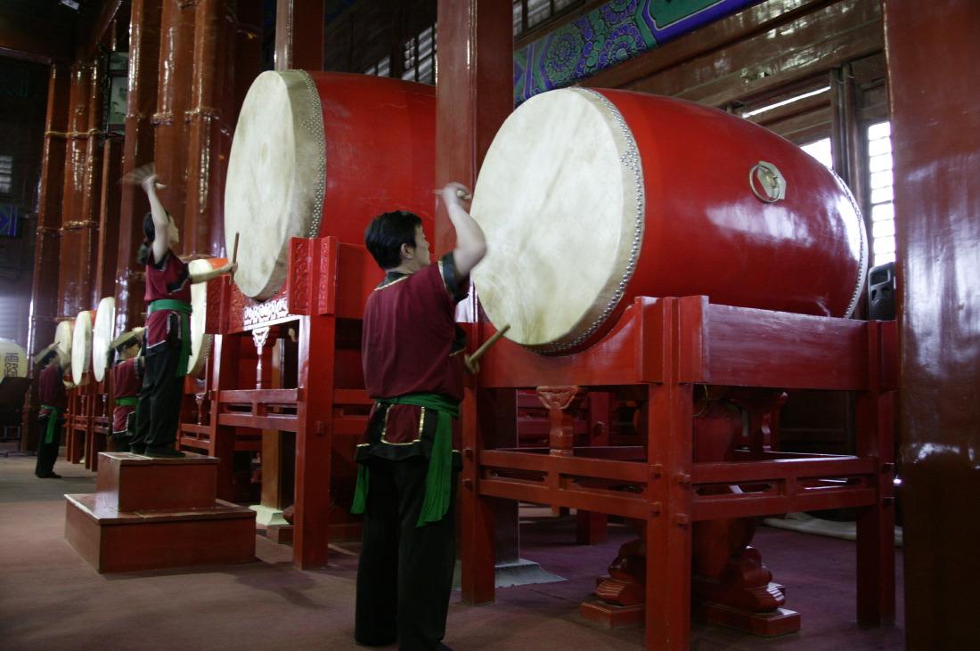 Drum Towers près de Houhai Lake