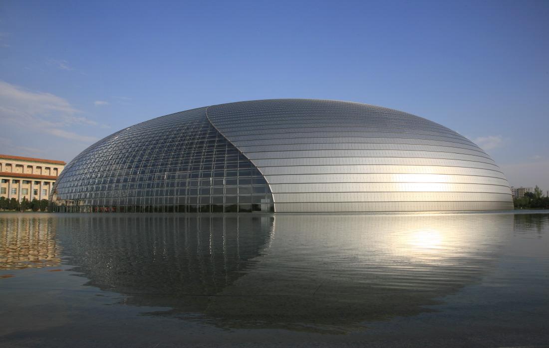 L'opéra national du français Paul Andreu