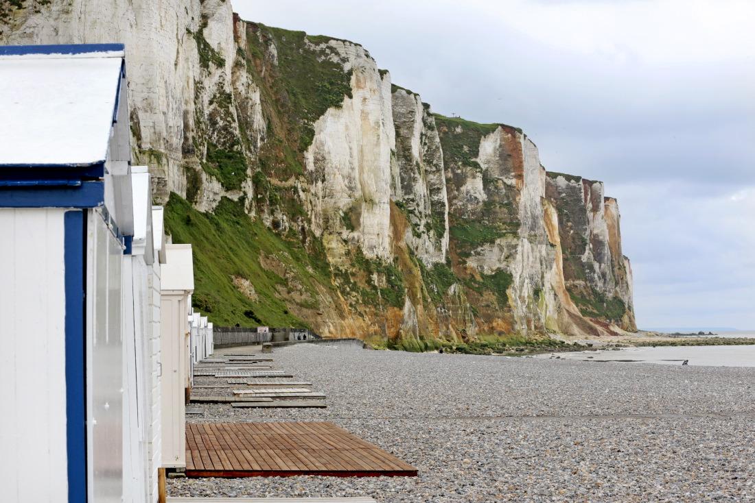 Cabines de plage, Le Tréport