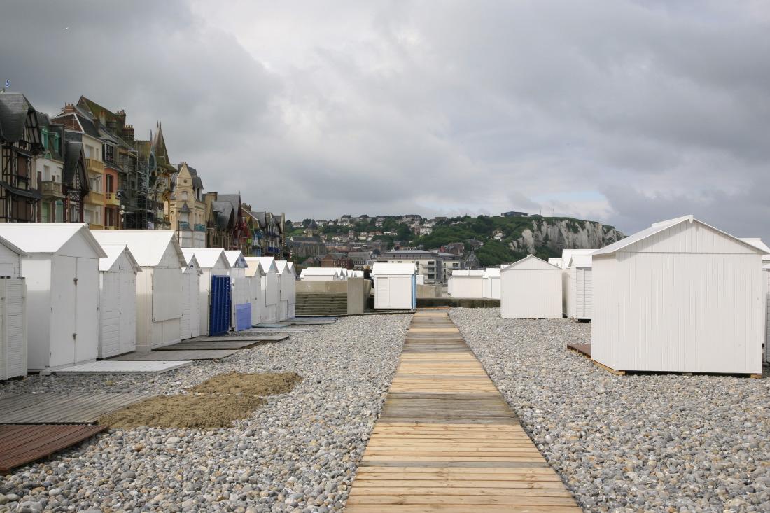 Cabines de plage, Mers-les-Bains