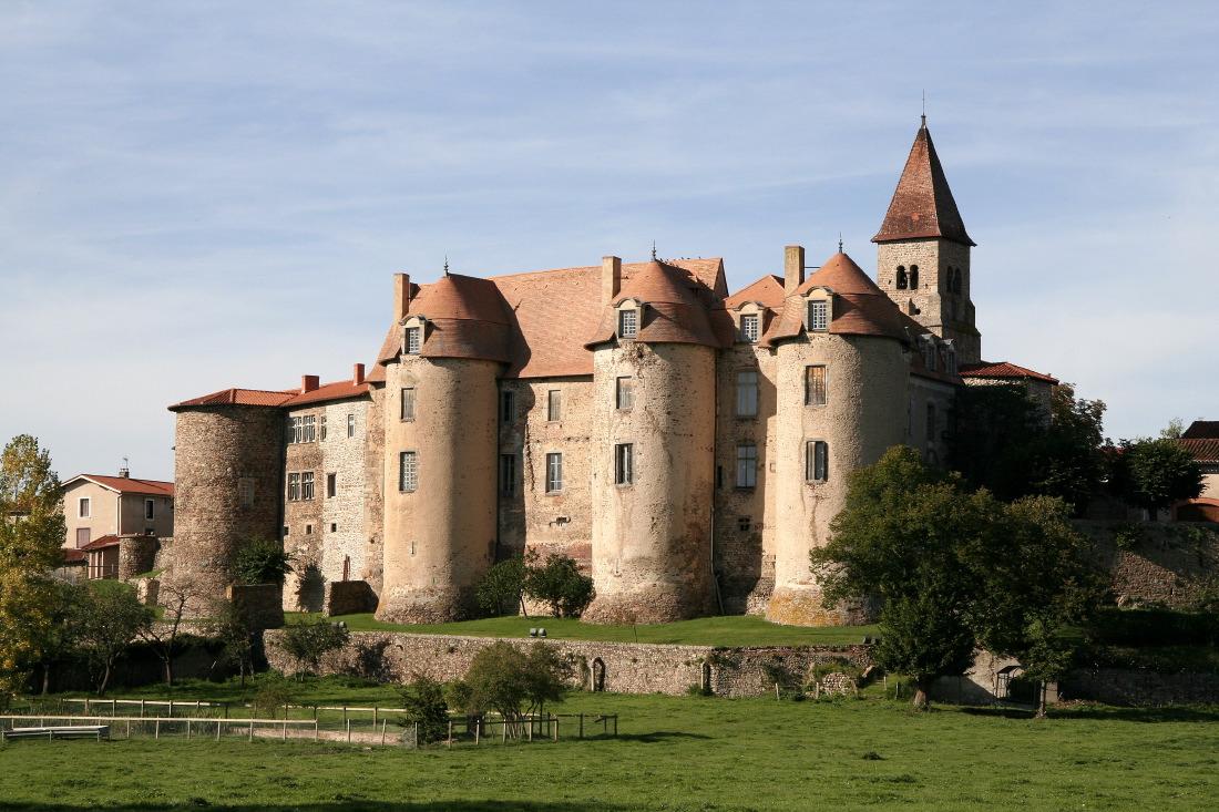L'abbaye de Pommiers-en-Forez