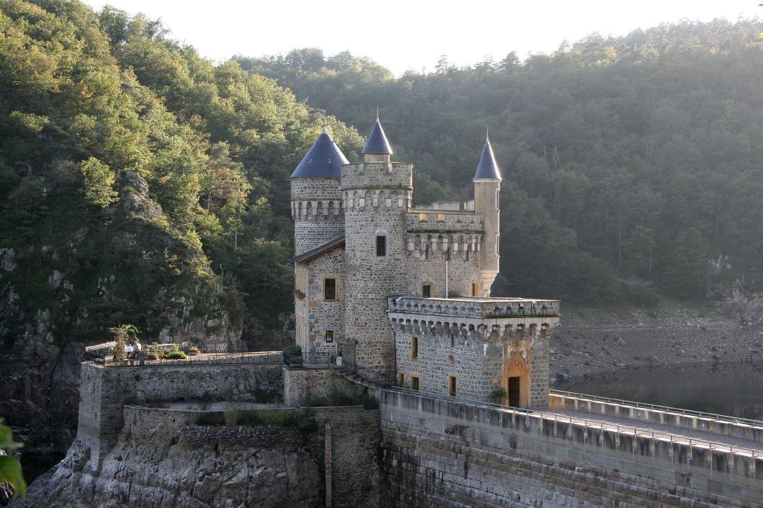 Le château de la Roche, féérique !