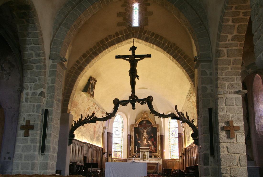 L'église de St-Haon-le-Châtel