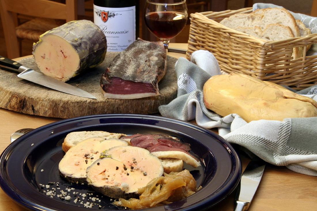 Foies gras d'Alain Gontard, 'La Gandelière', La Pacaudière