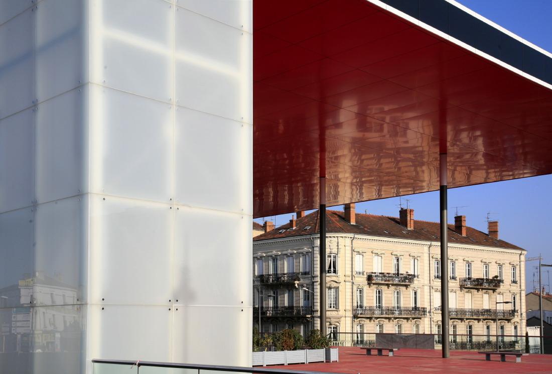 Rue de la gare à Roanne