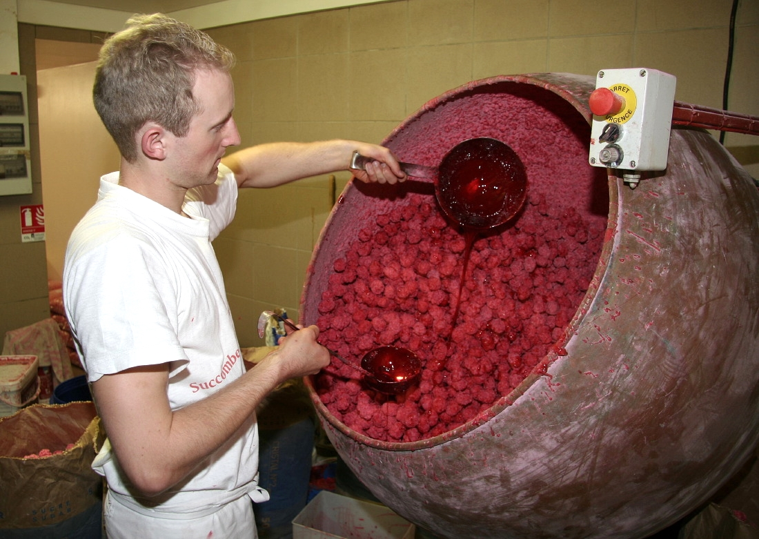 "Fabrication de la ""Praline"""