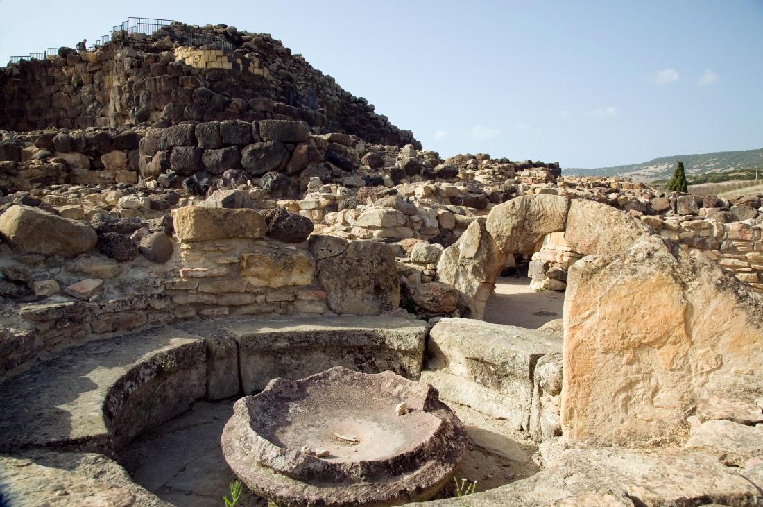 Site archéologique Su Nuraxi à Barumini