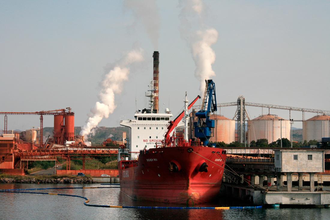 Port industriel de Portoscuso