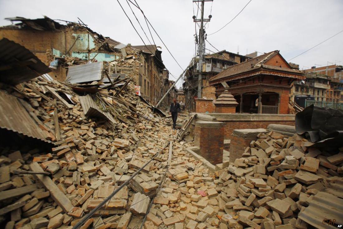 Avant de reconstruire, ici on pense maintenant à survivre... ©DR