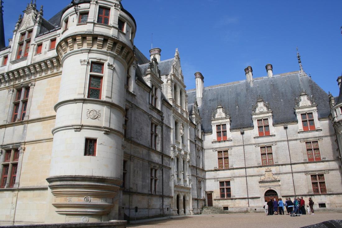Le château de conte de fées d'Azay-le-Rideau