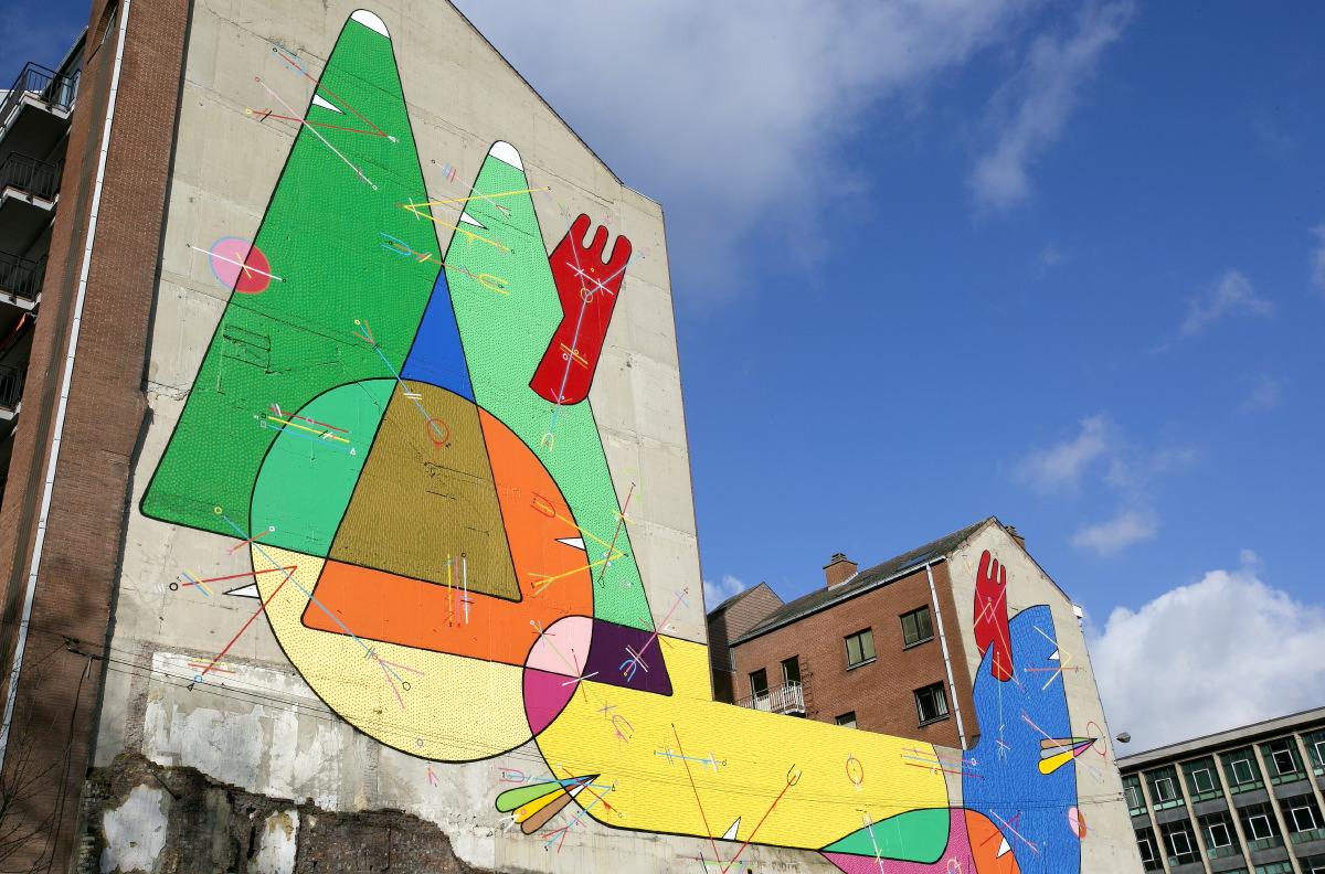 Fresque de Sixe Paredes (rue Tumelaire) © JJ Serol
