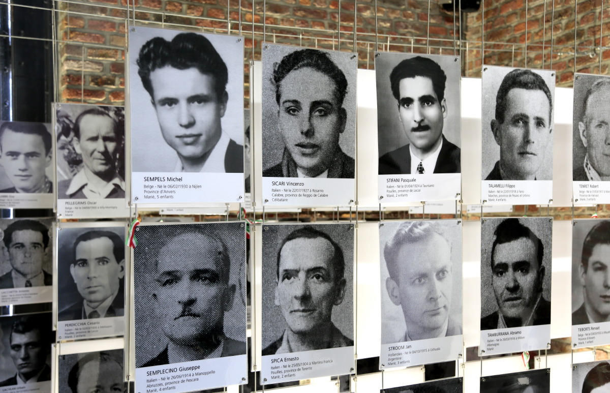 Hommage aux mineurs disparus au Bois du Cazier