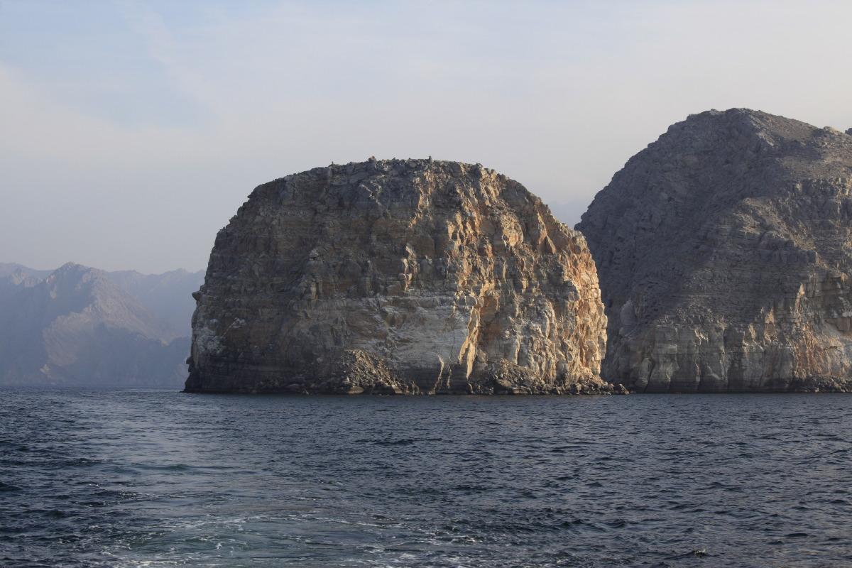 Du port de Khasab, on pénètre doucement...