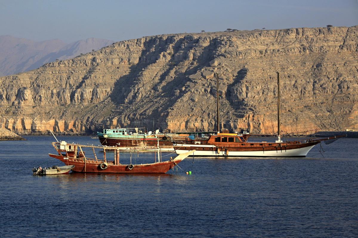 Retour dans le port de Khasab