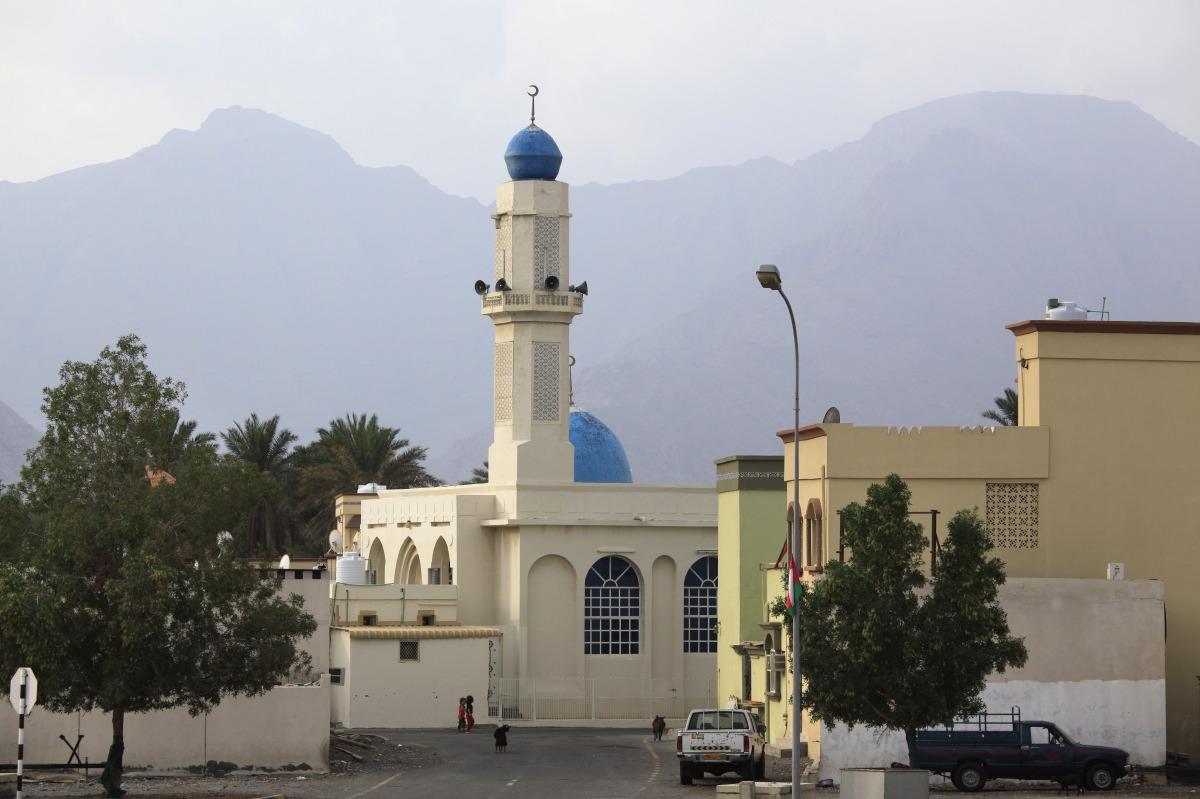Mosquée à Khasab