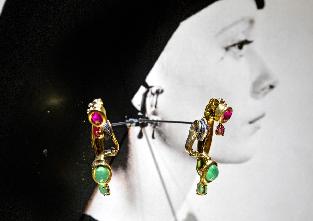 Musée de Dali à Figueras, la partie consacrée aux bijoux